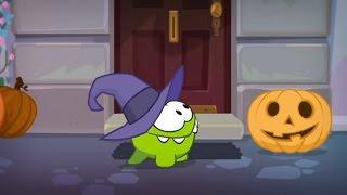 Приключения Ам Няма (Cut the Rope) - Вокруг Света - Хэллоуин  Страшные мультики про Halloween