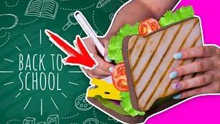 DIY Сквиши блокнот  МЕГА сэндвич  канцелярия СВОИМИ РУКАМИ  Back to school  Afinka