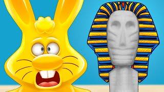 Египетское чудо восстановление мумии летающая тарелка и желейный заяц Харитон