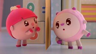 Малышарики  - Гости- серия 54 -  обучающие мультфильмы для малышей