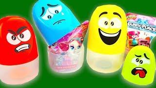 Сюрпризы в пакетиках, распаковываем и ищем игрушки для детей