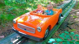 Кукла Беби Бон и Настя КАК МАМА играем вместе в парке Влог для детей