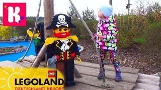 ВЛОГ Летим в Леголенд Германия размещаемся в Лего отеле  Legoland Feriendorf Germany Resorts