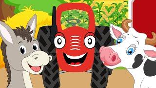 Тыр Тыр Трактор Песенки про животных СБОРНИК Все мультики для детей Сборник