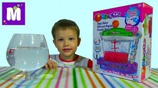 Орбиз волшебная фабрика набор c разноцветными шариками Orbeez Magic Maker unboxin set
