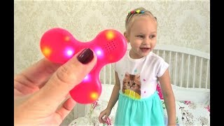 КРУТОЙ спиннер С МУЗЫКОЙ  Развлечение для детей Fun for kids new toy Spinner for kids