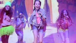 Open Kids - Show Girls Live (HD) at 2013  Birthday Party