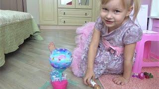 Кукла Челси Кровать Воздушный ШАР  Барби ДРИМТОПИЯ Маленькая кукла с питомцем щеночком