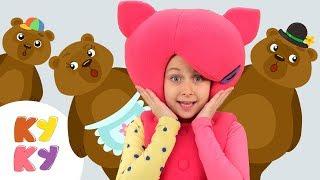 КУКУТИКИ: Маша и Три Медведя  - Детская песенка про медведей