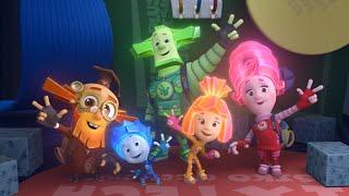 Фиксики - Телевизор  Познавательные мультики для детей
