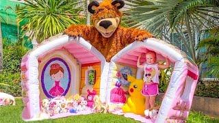 Маша и Медведь - Домик Сюрприз для игрушек Новая серия Masha and the Bear funny cartoons for kids
