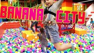 Banana City - Самый крутой детский развлекательный центр