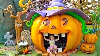 Самый лучший Детскии парк? ВЛОГ #2 с HELLO KITTY в СУПЕР парке для детей Видео для девочек Vlog