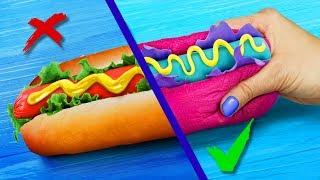 Сквиши против реальной еды Челлендж - 8 идей