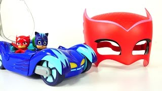 Герои в масках и Волшебная Коробка Капуки - видео с игрушками