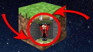 Я ПОПАЛ В МИР НА 98% СОСТОЯЩИЙ ИЗ ЗЕМЛИ Minecraft