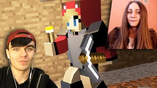 ДЕРЗКАЯ ДЕВУШКА ВАЛИТ ВСЕХ - Minecraft с Девушкой #4