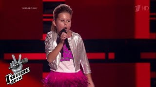 Полина Терехова Roar - Слепые прослушивания - Голос.Дети - Сезон 5