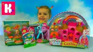 Лалалупси кукла прыгающая на батуте замок с каретой и пони игрушки сюрприз Lalaloopsy