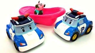 Машины Игрушки: СМАРТА, Робокар Поли и машинки.