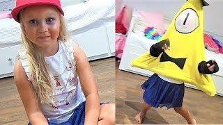 Алиса и Надя играют в игру для детей ГРАВИТИ ФОЛЗ