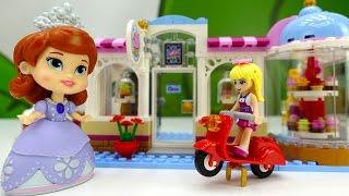 Видео для детей - Куклы открывают кафе. Английский для детей