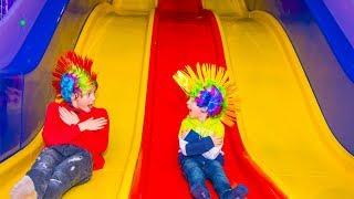 Самая ЧУМОВАЯ детская игровая площадка для Тиши и Дани.