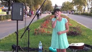 Диана Анкудинова набережная Самары, лето 2016 - Там нет меня