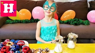 ЛАЙФХАК для НОВОГО ГОДА Наряжаем елку и делаем Новогодние свечи