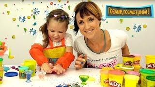 Учим профессии для детей - все серии с Плей До.