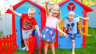 Настя и незваные гости Видео для детей