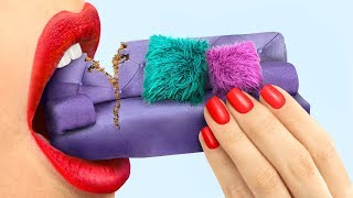 Съедобные миниатюрные сладости - 9 идей