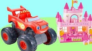 Видео для детей. Игрушки для мальчиков и девочек. Машинки и Замок