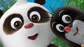 Премьера Новые мультики 2017 - Кротик и Панда - Друг издалека + Вечеринка для Кротика