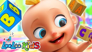 Learn Alphabet with Johny Johny ABC Song for KIDS 1 Hour Learning Kids Songs LooLoo KIDS