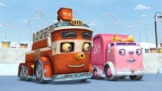 Мультики - Трактаун - Веселые машинки - Все серии подряд для детей