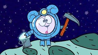 Наука для детей - Пояс астероидов и добыча ресурсов  Смешарики Пинкод - Карамболь