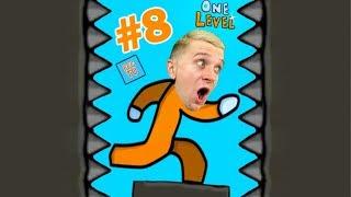 КАК СБЕЖАТЬ ИЗ ТЮРЬМЫ в игре One LEVEL 2 #8 Новый Побег Стикмана!