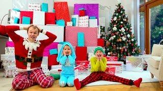 Дети не поделили самые необычные и крутые подарки на Рождество