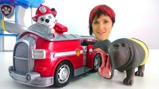 Щенячий Патруль на Капуки Кануки - Видео с игрушками