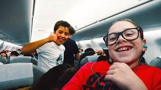 Влог Сбежали в Баку Встретили в самолете подписчиков