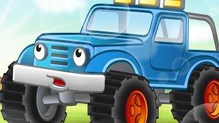 Развивающая Сказка для малышей про то, Как Джип стал полицейской машиной
