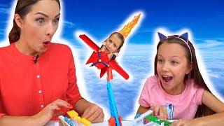 БЕРЕГИСЬ ОХОТНИКА Челлендж СПАСИ Цыплят - Вики Шоу