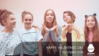 Happy Valentines Day by Open Kids -