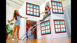 Гигантский Дом в доме из пенопласта - Будем строить домик Аквапарк