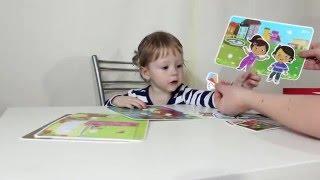 Веселые липучки Развивающая игра с мамой