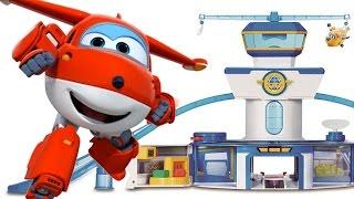 Супер Крылья - игрушки для детей - Маша собирает АЭРОПОРТ