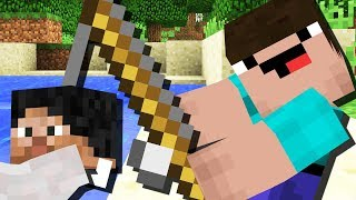 НУБ НА РЫБАЛКЕ в Minecraft