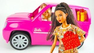 Барби и подружки подарки сюрпризы