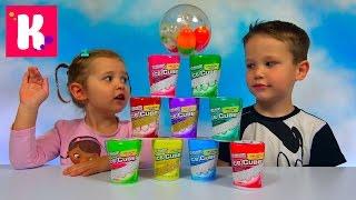 Жвачка Челлендж угадываем вкус жвачек в коробочках Ice Cube Jewing Gum Kids Challenge Miss Katy